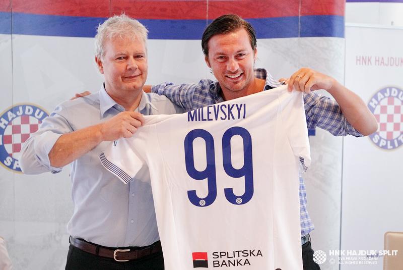 Хайдук официально представил Милевского - изображение 1