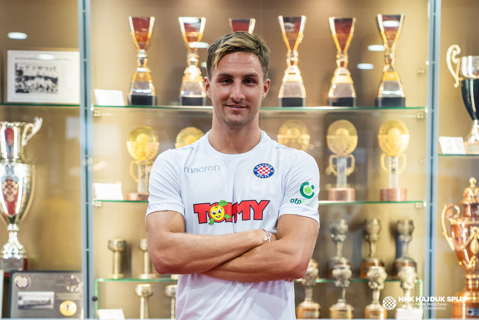 Stefan Simić now officially a Hajduk player • HNK Hajduk Split