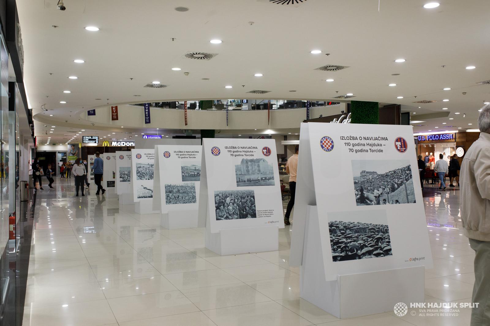 Izložba o navijačima, 110 godina Hajduka - 70 godina Torcide