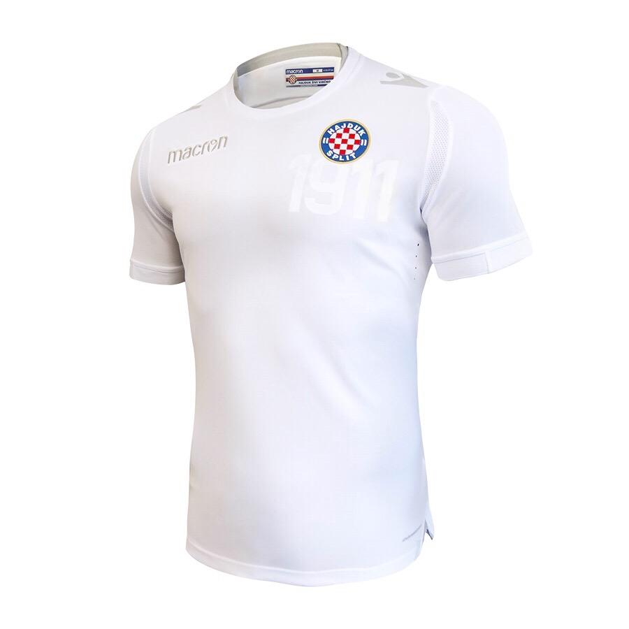 New White Jersey For The Season 2018 19 Hnk Hajduk Split