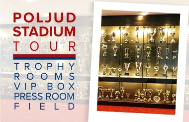 Hajduk stadium tour