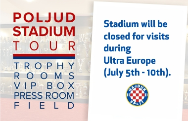 Hajduk stadium tour