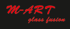 M art glass