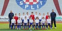 Hajdukovi početnici (2005.) treći na Dalmatinko Cupu