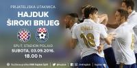 Hajduk u subotu protiv Širokog Brijega