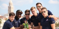 Hajdukovci na Rivi sudjelovali u predstavljanju nove Juicy kampanje