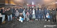 Hajdukovci na druženju s navijačima u Slavonskom Brodu