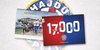 Over 17 000 copies of Hajduk official 2017 calendar have already been sold