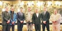 """Nincevic and Karan donated a song """"Naprid Bili"""" to Hajduk"""