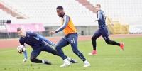 Last training sessions before Dinamo