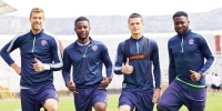 Hajdukovci u dobrom raspoloženju pred subotnju utakmicu