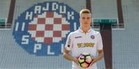 Franko Kovačević potpisao za Bijele: ''Čast mi je što ću nositi Hajdukov dres!''