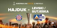 Europska liga: Hajduk u 2. pretkolu protiv pobjednika susreta Levski - Sutjeska