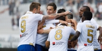 Hajduk against Lokomotiva in Zagreb in the first round of Hrvatski Telekom Prva liga