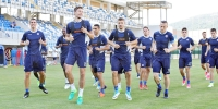 First training session in Dugopolje
