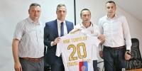 Predsjednik Kos: Pomoći ćemo da se igrači razvijaju u Hercegovini, želimo usavršavati kvalitetan kadar