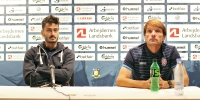Pre-match press conference: Joan Carrillo and Savvas Gkentsoglou