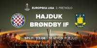 Match officials for Hajduk - Brondby