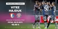 Hajduk protiv Viteza u petak 6. listopada