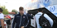 Hajduk arrived in Vitez by a new team bus