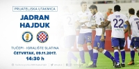 Hajduk team guests on the 50th anniversary of HNK Jadran Tucepi