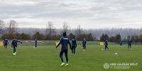 Activation training ahead of today's match
