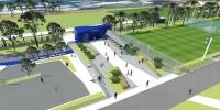 Construction of new training fields starts on Monday