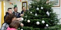 Hajduk visited Children's home Maestral