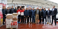 Hajduk, athletes from Split and journalists helped the homeless again