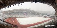 Snijeg zabijelio Poljud