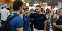 Srdačan susret na splitskom aerodromu: Vlašić zaželio sreću hajdukovcima