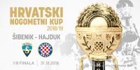 Hajduk u osmini finala Hrvatskog kupa igra protiv Šibenika