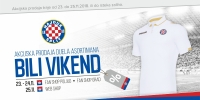 White weekend in Hajduk Fan Shops!