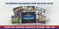 Kalendar za 2019. godinu u prodaji u Hajdukovim Fan shopovima!