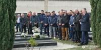 Hajdukova delegacija položila vijence na grobnice Kaliterne, Mladinića, Luštice i Ivića