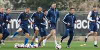 Hajduk preparing for the match with Lokomotiva