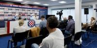 Konferencija za novinare uoči utakmice Hajduk - Istra 1961