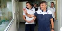 Hajdukovci razveselili djecu na splitskoj pedijatriji