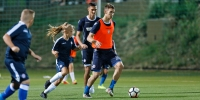 Summer School: Ismajli, Jradi and Teklić trained with the kids