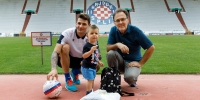 Hajduk welcomed little Toma, whose photo became a viral hit