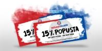 Dođite u subotu na Zvončac i preuzmite kupon s 15% popusta u Hajdukovim Fan shopovima