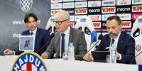Konferencija za medije čelnika HNK Hajduk na kraju ljetnog prijelaznog roka