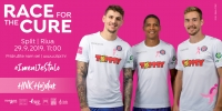 THINK PINK: HNK Hajduk ambasador ''Race for the cure''