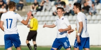 Croatia U-19: Šarić and Vušković scored, Brnić added an assist