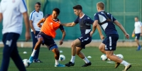 At Poljud, Hajduk continued preparation for the next games
