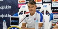 Konferencija za medije trenera Burića uoči Hajduk - Osijek