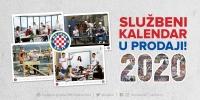 Hajduk je svaki dan: Predstavljamo službeni kalendar HNK Hajduk za 2020. godinu!