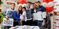 Promocija kalendara: Bijeli se družili s navijačima u Tommyju