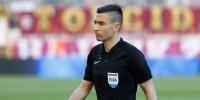 Mario Zebec sudi utakmicu Inter Zaprešić - Hajduk