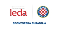 Prirodna izvorska voda Leda novi je Hajdukov sponzor